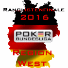 Ranglistenfinale 2016 - Region West