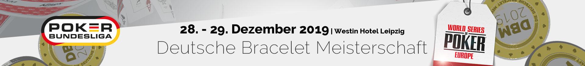 Deutsche Bracelet Meisterschaft 2019